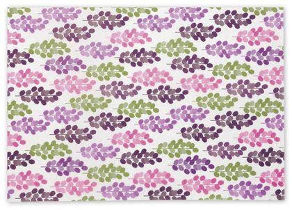 """Leafy Garden Tissue Paper, 20 x 30"""""""