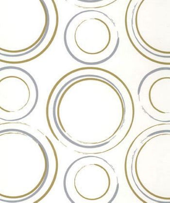 Metallic Circles Tissue Paper, 20 x 30