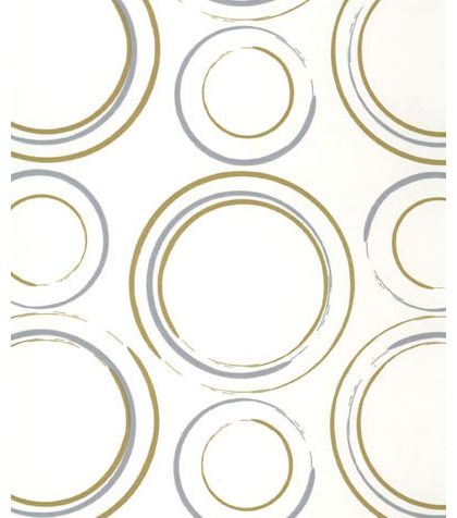 Metallic Circles Tissue Paper, 20 x 30""