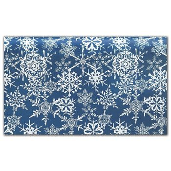 Midnight Snowflake Tissue Paper, 20 x 30