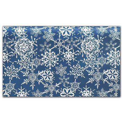 "Midnight Snowflake Tissue Paper, 20 x 30"""