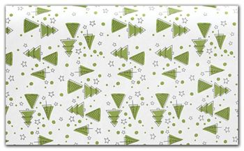 Merry Trees Tissue Paper, 20 x 30