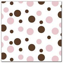 "Neopolitan Dots Tissue Paper, 20 x 30"""