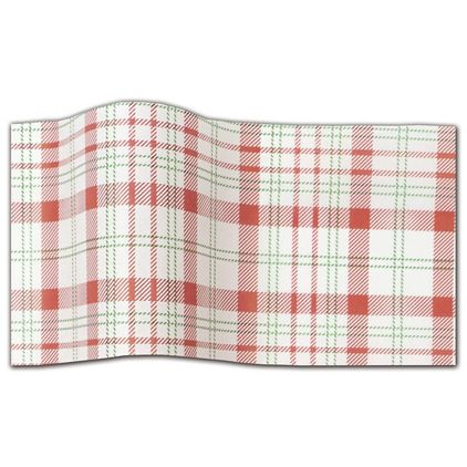 """Perfectly Plaid Tissue Paper, 20 x 30"""""""
