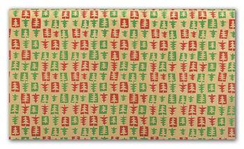 Patchwork Pine Tissue Paper, 20 x 30