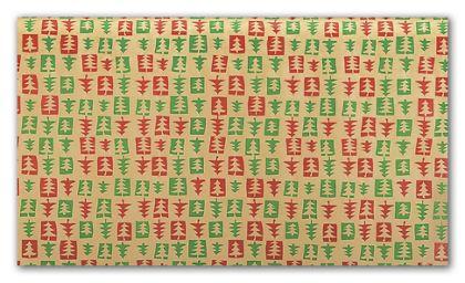 """Patchwork Pine Tissue Paper, 20 x 30"""""""