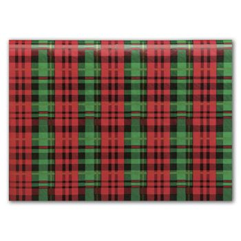 Presently Plaid Tissue Paper, 20 x 30