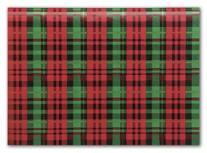 Presently Plaid Tissue Paper, 20 x 30""