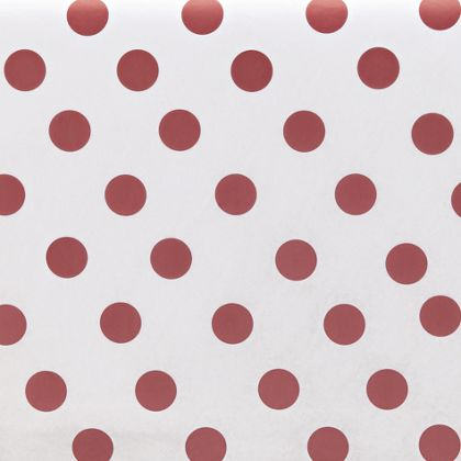 Red Dots Tissue Paper, 20 x 30""