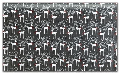 "Reindeer Plaid Tissue Paper, 20 x 30"""