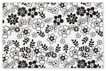 Retro Floral Tissue Paper, 20 x 30