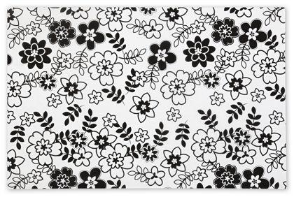 "Retro Floral Tissue Paper, 20 x 30"""