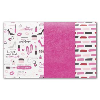 Retail Therapy Tissue Paper Assortment, 15 x 20""