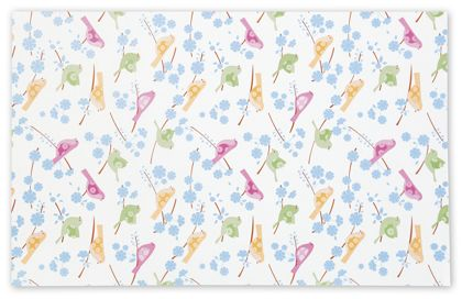 Song Birds Tissue Paper, 20 x 30""
