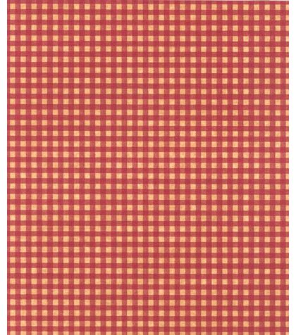 Gingham Kraft Red Tissue Paper, 20 x 30""