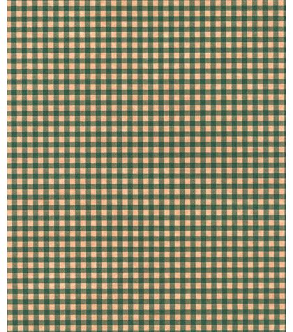 Gingham Kraft Green Tissue Paper, 20 x 30""
