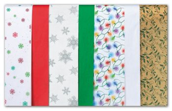 Tis the Season Tissue Paper Assortment, 20 x 30