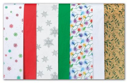 Tis the Season Tissue Paper Assortment, 20 x 30""
