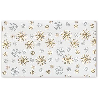 """Snow is Glistening Tissue Paper, 20 x 30"""""""