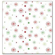 "Seasons Greetings Snowflakes Tissue Paper, 20 x 30"""