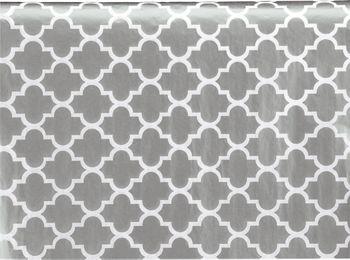 Silver Ornamental Tissue Paper, 20 x 30