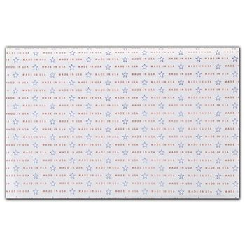 Made in USA Tissue Paper, 20 x 30