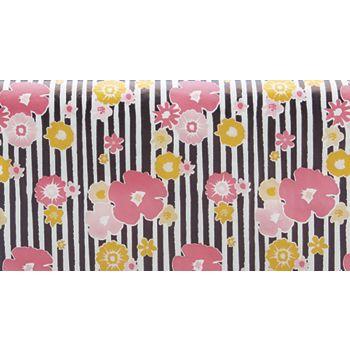 "Vibrant Floral Tissue Paper, 20 x 30"""