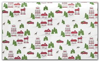 Winter Village Tissue Paper, 20 x 30
