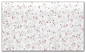 Winter Berries Tissue Paper, 20 x 30