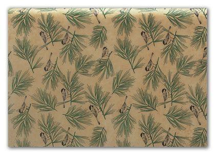 "Winter Chickadee Tissue Paper, 20 x 30"""