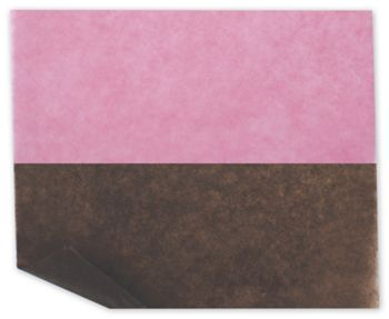 Bakery Tissue Paper, Strawberry/Chocolate Mix, 6 x 10 3/4