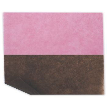 Bakery Tissue Paper, Strawberry/Chocolate Mix, 6 x 10 3/4""