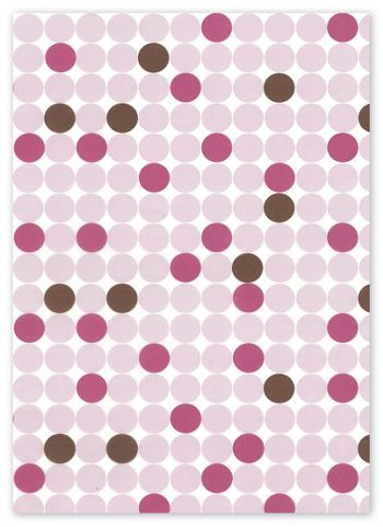 Food Grade Tissue Paper, Dots, 12 x 12