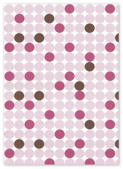 Food Grade Tissue Paper, Dots, 12 x 12""