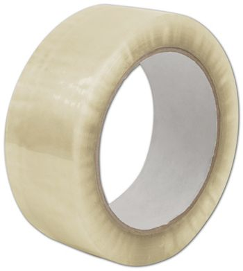 Clear Carton Sealing Tape, 1.7 Mil, 2