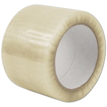 Clear Carton Sealing Tape, 1.7 Mil, 3