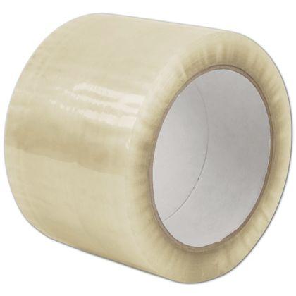 "Clear Carton Sealing Tape, 1.7 Mil, 3"" x 110 Yds"