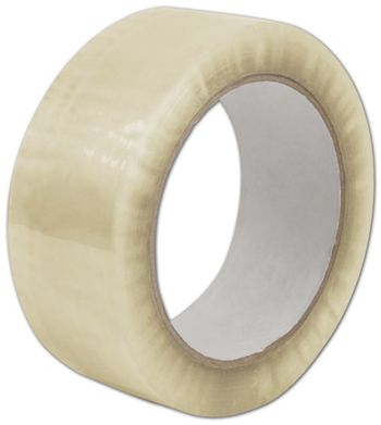 Clear Carton Sealing Tape, 2 Mil, 2