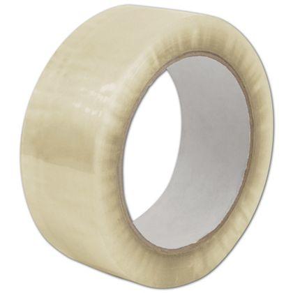 "Clear Carton Sealing Tape, 2 Mil, 2"" x 110 Yds"