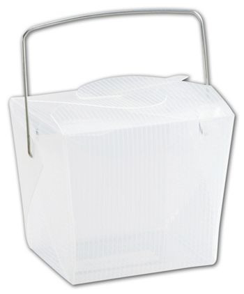 Clear Grooved Event Boxes, 2 3/4 x 2 x 2 1/2