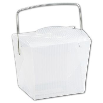 Clear Grooved Event Boxes, 2 3/4 x 2 x 2 1/2""