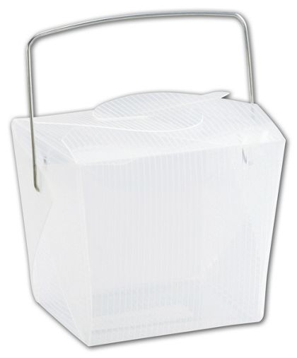 """Clear Grooved Event Boxes, 2 3/4 x 2 x 2 1/2"""""""