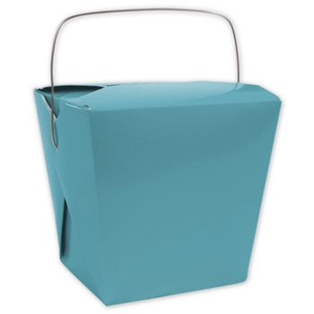 Turquoise Event Boxes, 2 3/4 x 2 x 2 1/2