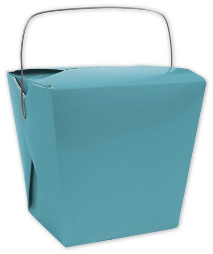 Turquoise Event Boxes, 2 3/4 x 2 x 2 1/2""