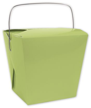 Lime Event Boxes, 4 x 3 1/2 x 4