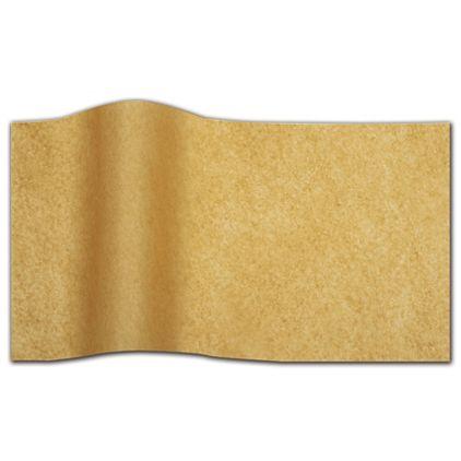 "Recycled Kraft Flat Tissue, 20 x 30"""