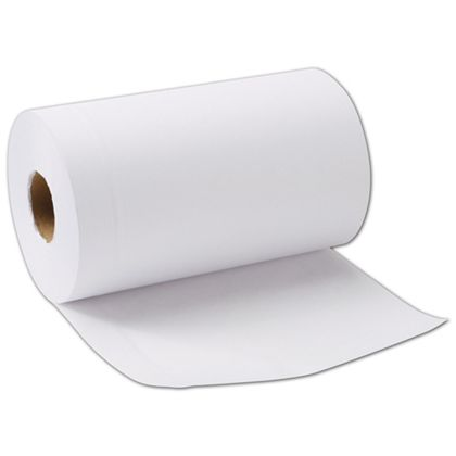 "White Jeweler's Roll Tissue Paper, 7 1/2"" W x 5"" Diameter"