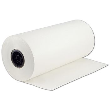 White Tissue Stock Rolls, 20 x 9