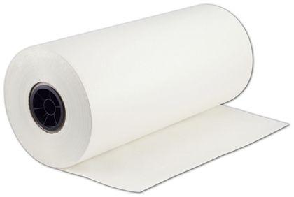 "White Tissue Stock Rolls, 20 x 9"""