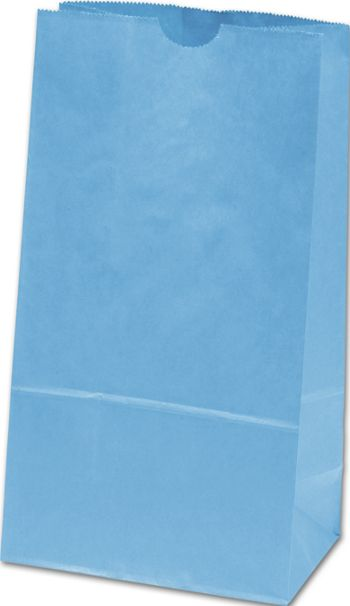 Sky Blue SOS Bags, 4 1/4 x 2 3/8 x 8 3/16